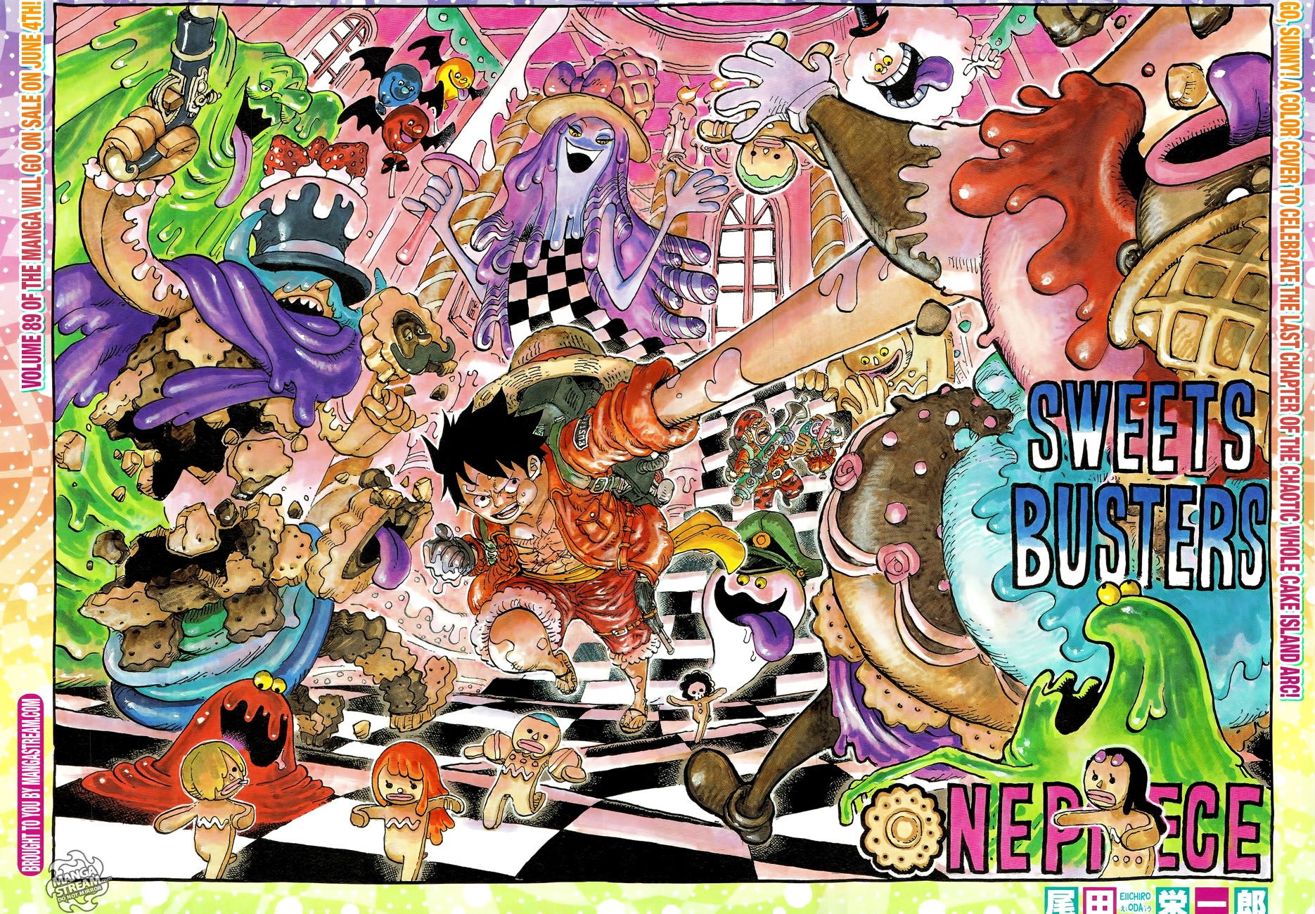 One Piece Chapter 903: Is Luffy now the fifth emperor ...